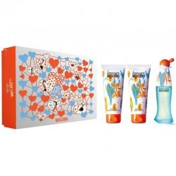 Moschino Cheap and Chic I Love Love Estuche edt 50 ml spray + Shower Gel 50 ml + Body Lotion 50 ml