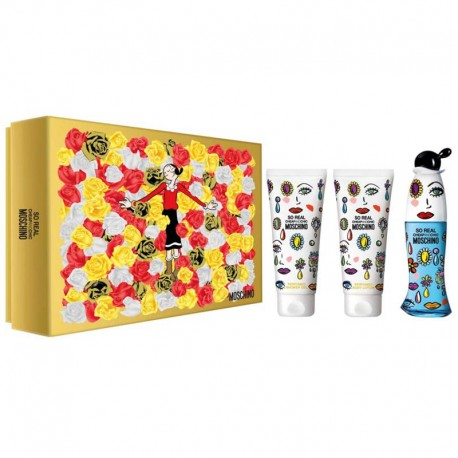 Moschino Cheap and Chic So Real Estuche edt 50 ml spray + Body Lotion 50 ml + Shower Gel 50 ml