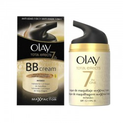 Olay Total Effects BB Cream Hidratante + Toque de Maquillaje Intenso SPF 15 50 ml