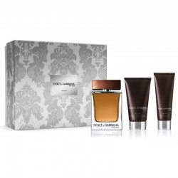 Dolce & Gabbana The One For Men Estuche edt 100 ml spray + After Shave Balm 75 ml + Shower Gel 50 ml