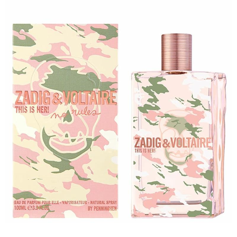 Zadig & Voltaire This Is Her! No Rules Capsule Collection edp 100 ml spray Perfumeria Ana