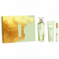 Adolfo Dominguez Agua Fresca de Azahar Estuche edt 120 ml spray + Body Lotion 75 ml + edt 10 ml spray
