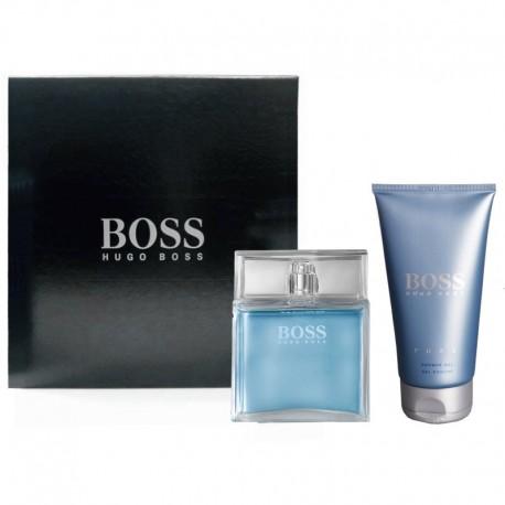 Hugo Boss Pure Estuche edt 75 spray + Shower Gel 150 ml