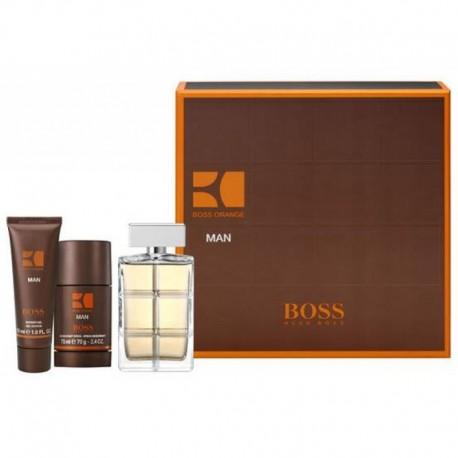Hugo Boss Orange Man Estuche edt 100 ml spray + Deo Stick 75 ml + Shower Gel 50 ml