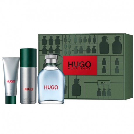 Hugo Boss Hugo Man Estuche edt 125 ml spray + Shower Gel 50 ml + Deo Stick 75 ml