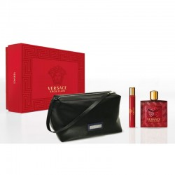 Versace Eros Flame Estuche edp 100 ml spray + edp 10 ml spray + Neceser