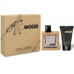 Dsquared2 He Wood Estuche edt 100 ml spray + Shower Gel 100 ml