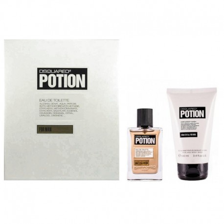 Dsquared2 Potion Homme Estuche edt 50 ml spray + Shower Gel 100 ml