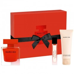 Narciso Rodriguez Narciso Rouge Estuche edp 90 ml spray + edp 10 ml spray + Body Lotion 75 ml