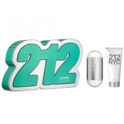 Carolina Herrera 212 Estuche edt 100 ml spray + edt 10 ml spray + Body Lotion 75 ml