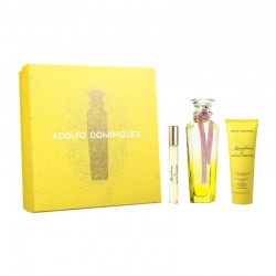 Adolfo Dominguez Agua Fresca de Mimosa Coriandro Estuche edt 120 ml spray + edt 10 ml spray + Body Lotion 75 ml
