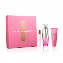 Adolfo Dominguez Agua Fresca de Gardenia Musk Estuche edt 120 ml spray + edt 10 ml spray + Body Lotion 75 ml