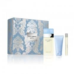Dolce & Gabbana Light Blue Estuche edt 100 ml spray + edt 10 ml spray + Body Lotion 50 ml