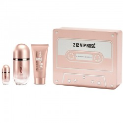 Carolina Herrera 212 VIP Rose Estuche edp 50 ml spray + Miniatura edp 5 ml + Body Lotion 75 ml