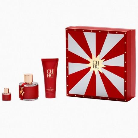Carolina Herrera CH Estuche edt 100 ml spray + Miniatura edt 8 ml + Body Lotion 100 ml