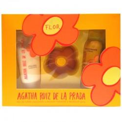 Agatha Ruiz de la Prada Flor Estuche edt 100 ml spray + Body Lotion 150 ml + Desodorante Spray 150 ml
