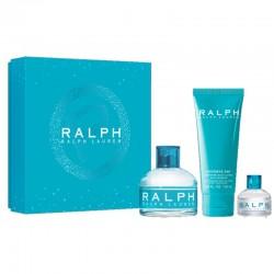 Ralph Lauren Ralph Estuche edt 100 ml spray + Body Lotion 100 ml + Miniatura edt 7 ml + Body Lotion 100 ml