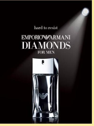 Emporio Diamonds For Men Armani