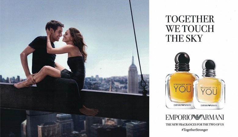 Nuevo perfume Giorgio Armani Emporio Armani Stronger With You