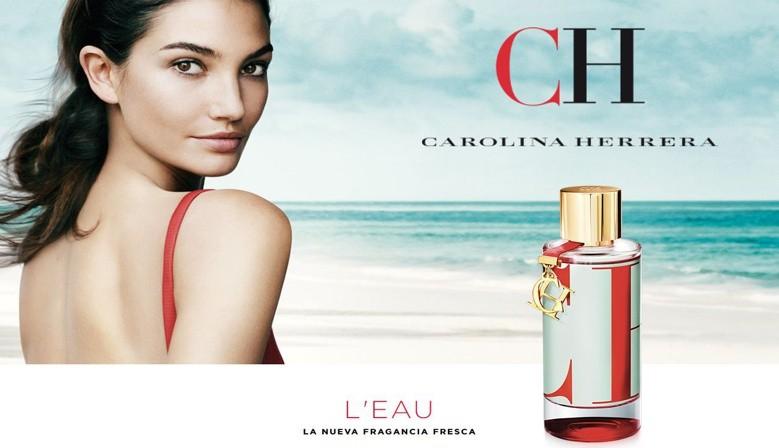 Nuevo perfume Carolina Herrera CH L´eau